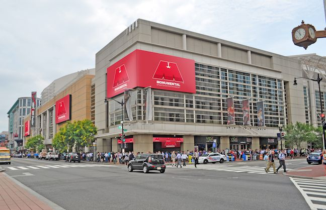 Verizon Center Partners with Lyft