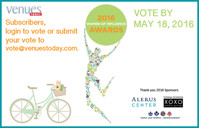 Vote for the 2016 VT Women of Influence Awards!