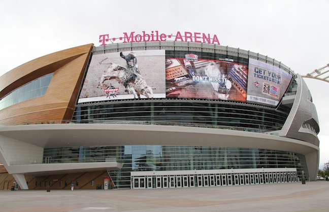 PBR Makes T-Mobile Arena Home