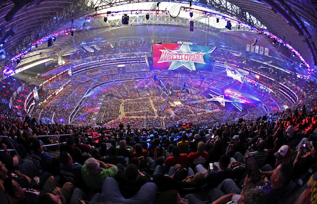 AT&T Stadium Makes WrestleMania History