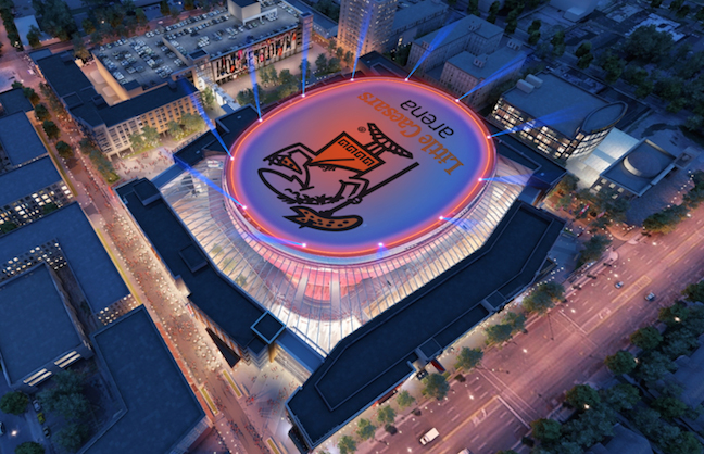 Little Caesars, Camping World Name Venues