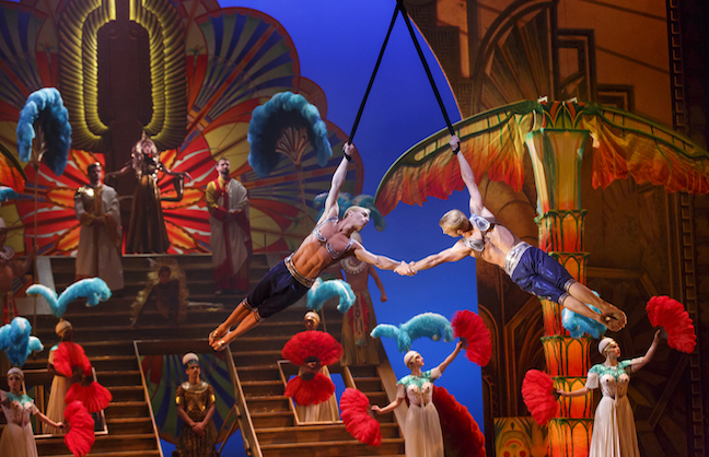 Cirque du Soleil Dives into Broadway