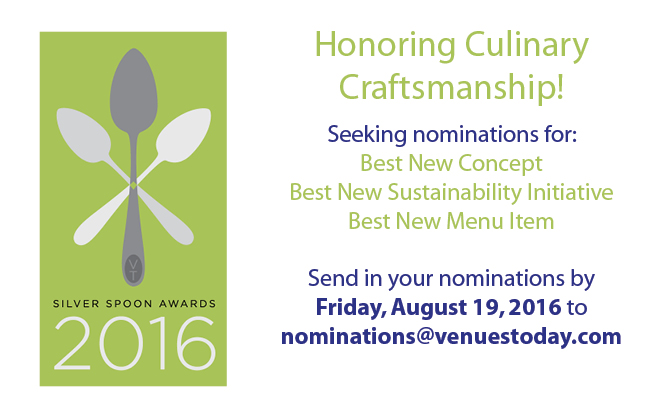 Submit nominations for 2016 Silver Spoons Award by Friday, August 19!