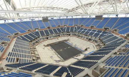 NTC's $150-million Retractable Roof Ready for US Open