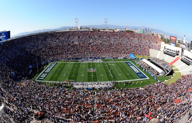 LA Coliseum Addresses Rams Fan Issues