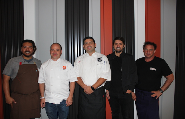 Staples Center Partners With Celebrity Chefs
