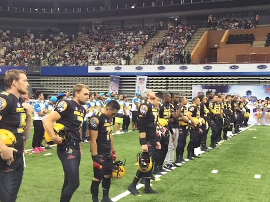 Chinese Arena Football Kicks Off
