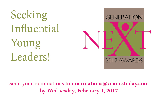 Nominate for Generation Next awards by Feb.1, 2017!