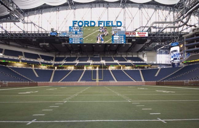 Ford Field's $100-Mil Restoration Underway