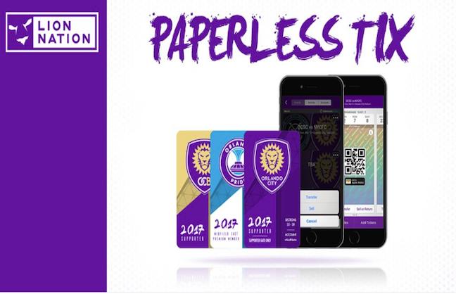 Orlando City SC Goes Paperless