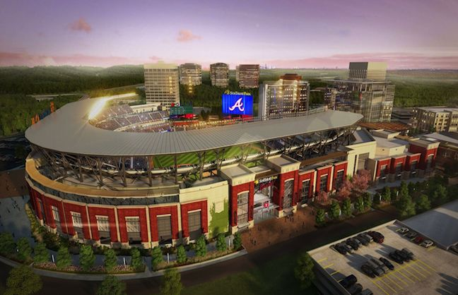 New SunTrust Park Bring Urban to Suburbs
