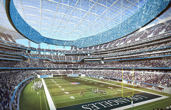 New Rams Stadium Loses 2021 Super Bowl