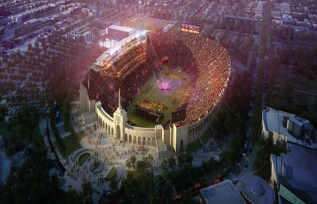 LA Coliseum To Get $270-Million Makeover