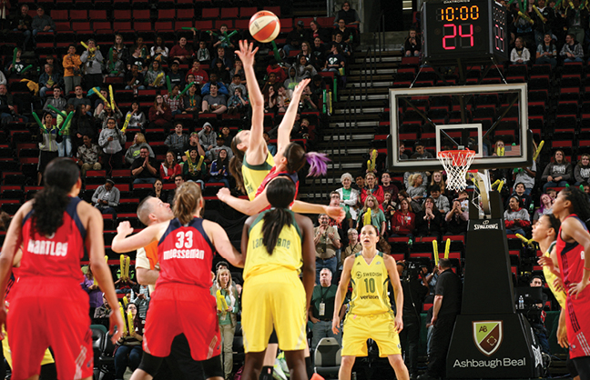 Seattle Storm To Stay At KeyArena