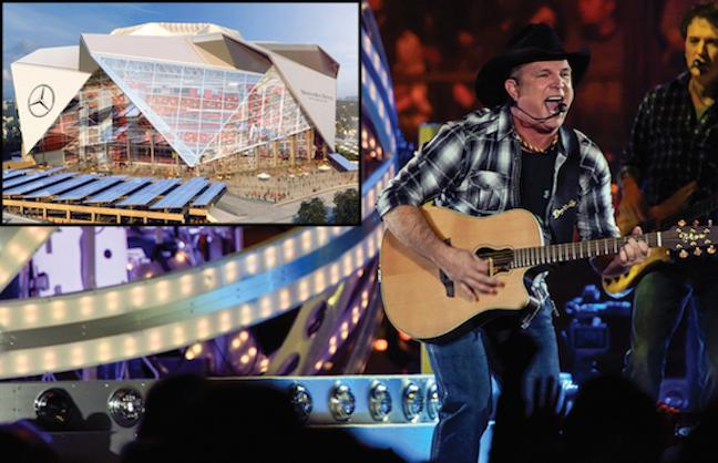 Brooks To Play 1st Mercedes-Benz Stadium Concert