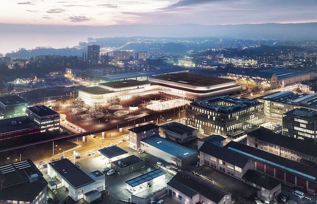 Lausanne Contracts with AEG Facilities