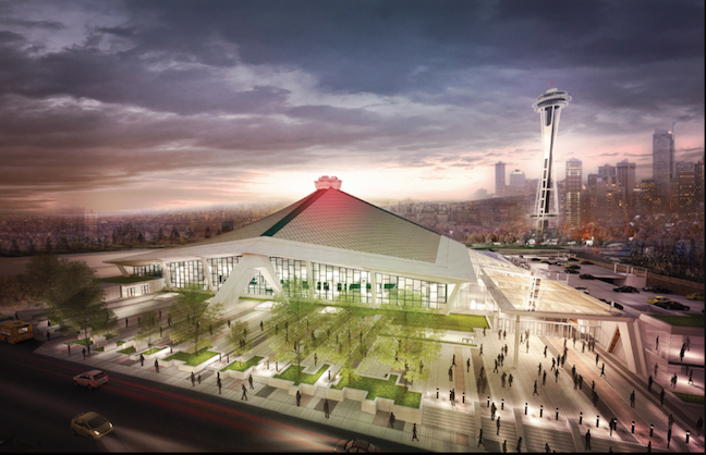Seattle's KeyArena Goes To OVG
