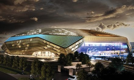 Yas Arena Plans Unveiled