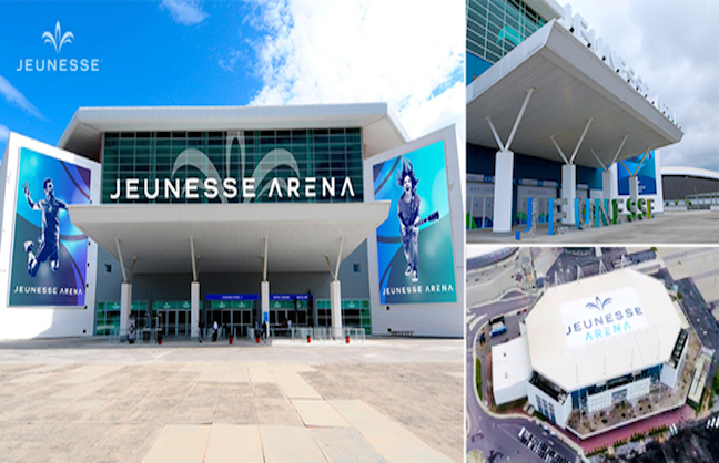 Renamed Jeunesse Arena Opens In Rio