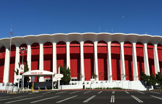 The Forum To Sue Inglewood