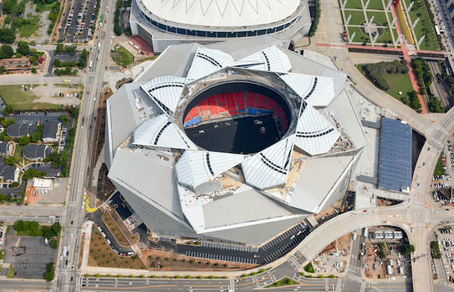 No Single-Game Tickets At Falcons Stadium