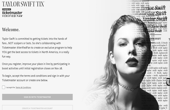 Taylor Swift Ticket Scheme Controversial