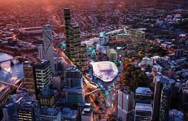 Brisbane Live Linked with Underground Rail Line
