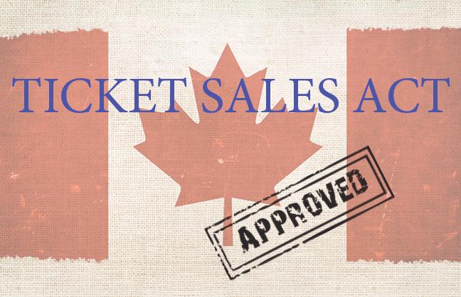 Ontario Passes Ticket Cap Bill