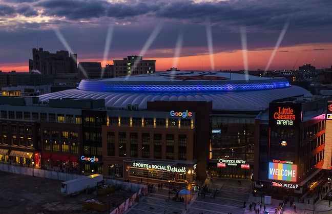 Google Opening Offices Near Detroit Arena