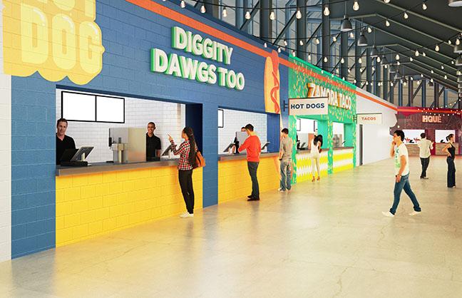 Dynamo Finish Food Upgrades