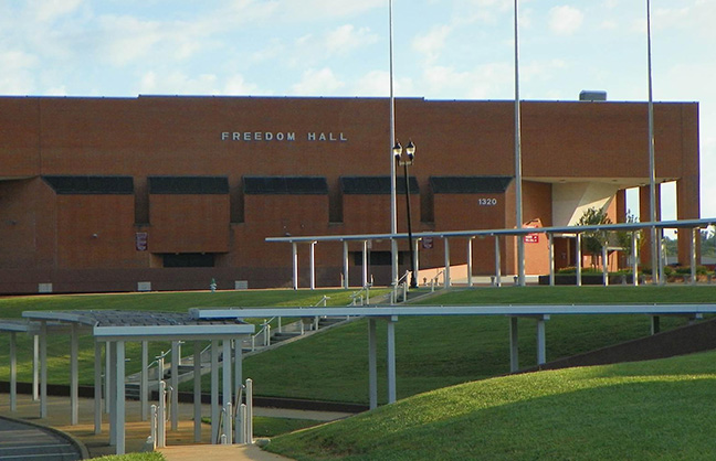 Freedom Hall Out For Bid