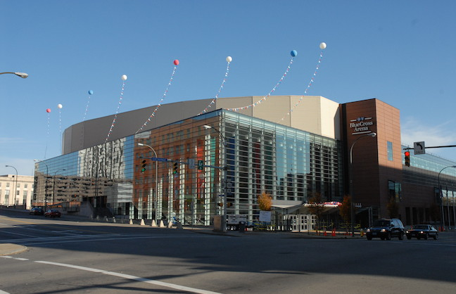 Pegulas Take On Blue Cross Arena