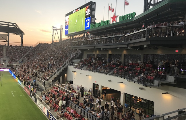 Inside Audi Field's Opening Night