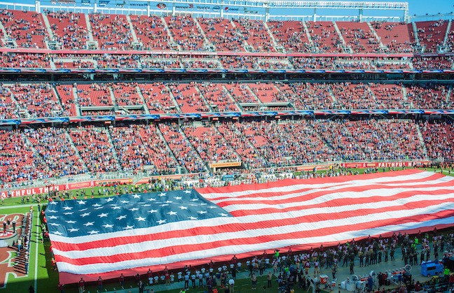Levi's Stadium Will Pause For Anthem
