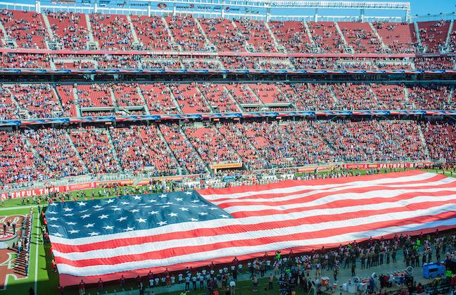 Levi's Stadium Will Pause For Anthem