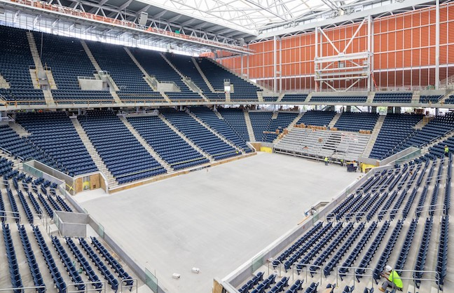 Finishing Touch At U.S. Open's Home
