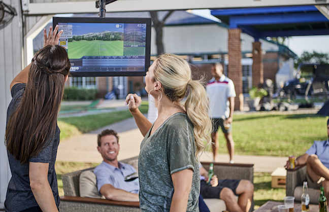 TOPTRACER RANGE AIMS FOR TOPGOLF'S TRAJECTORY