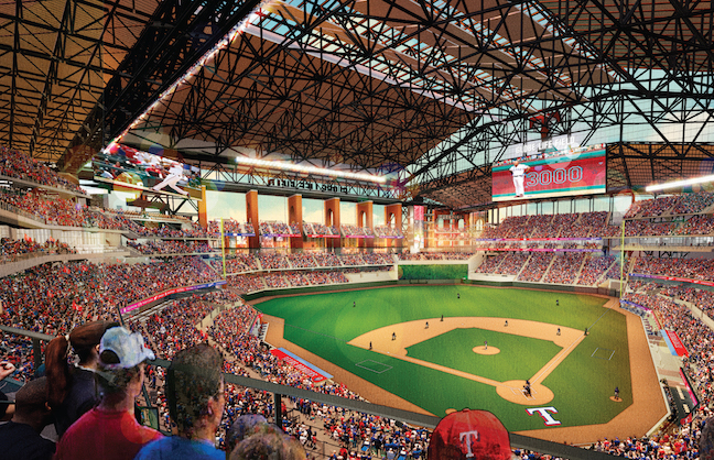 RANGERS HIRE VAN WAGNER FOR PREMIUM SALES AT NEW BALLPARK
