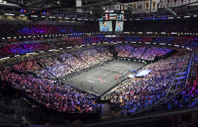 United Center Eager For More Tennis
