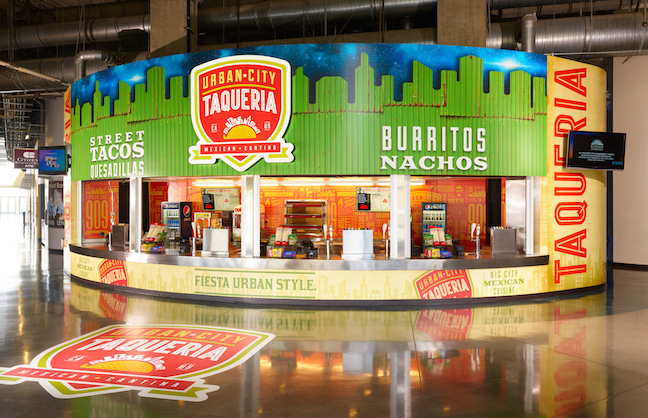 TOP OF THE MENU: NEW CONCESSION STANDS LEAD IMPROVEMENTS
