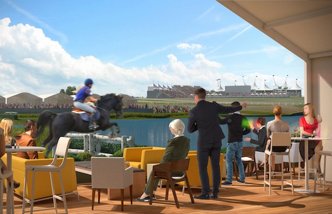 POPULOUS' EQUESTRIAN WORK WILL GET A GLOBAL AUDIENCE