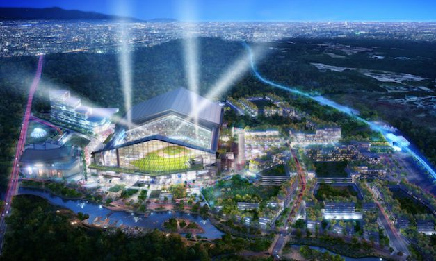 HKS Works On Planned Ballpark In Japan
