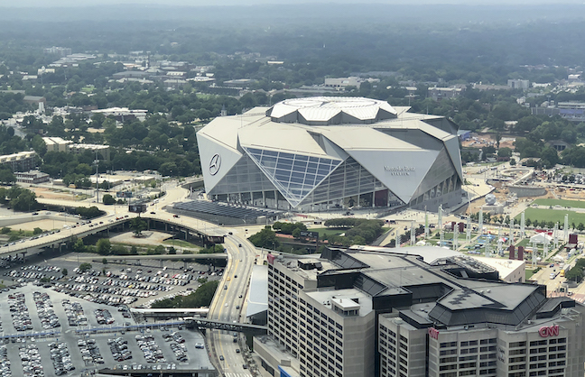 ATLANTA OFFERS UNIQUE SUPER BOWL CAMPUS