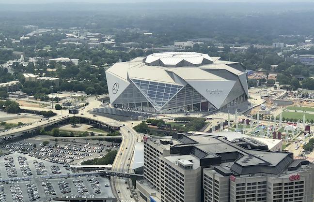 Falcons, Atlanta United Going Cashless