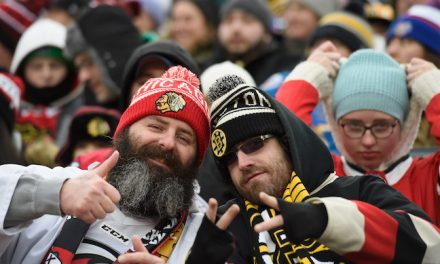 Why Lines Got Long At Winter Classic