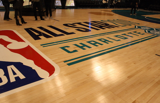 Spectrum Center Abuzz For NBA All-Star