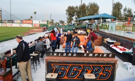 At Minor League Park, 'Garage' Rocks