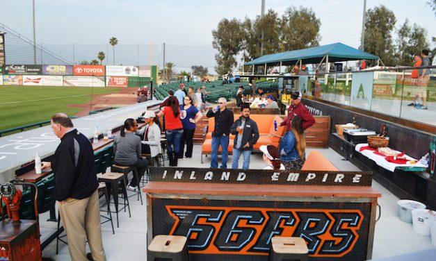 At Minor League Park, 'Garage' Rocks