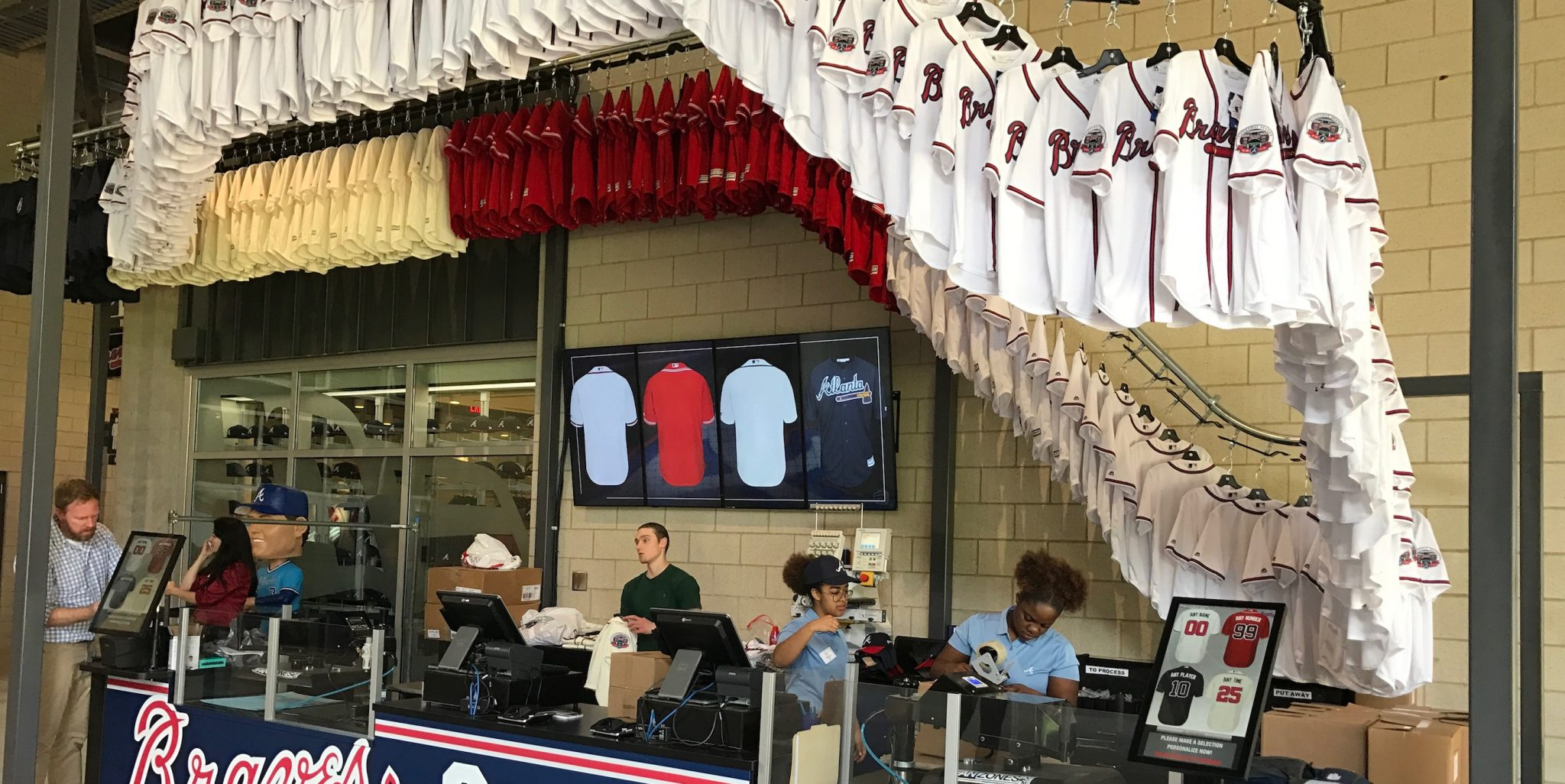 Roller Coaster Puts Jersey Sales on Incline