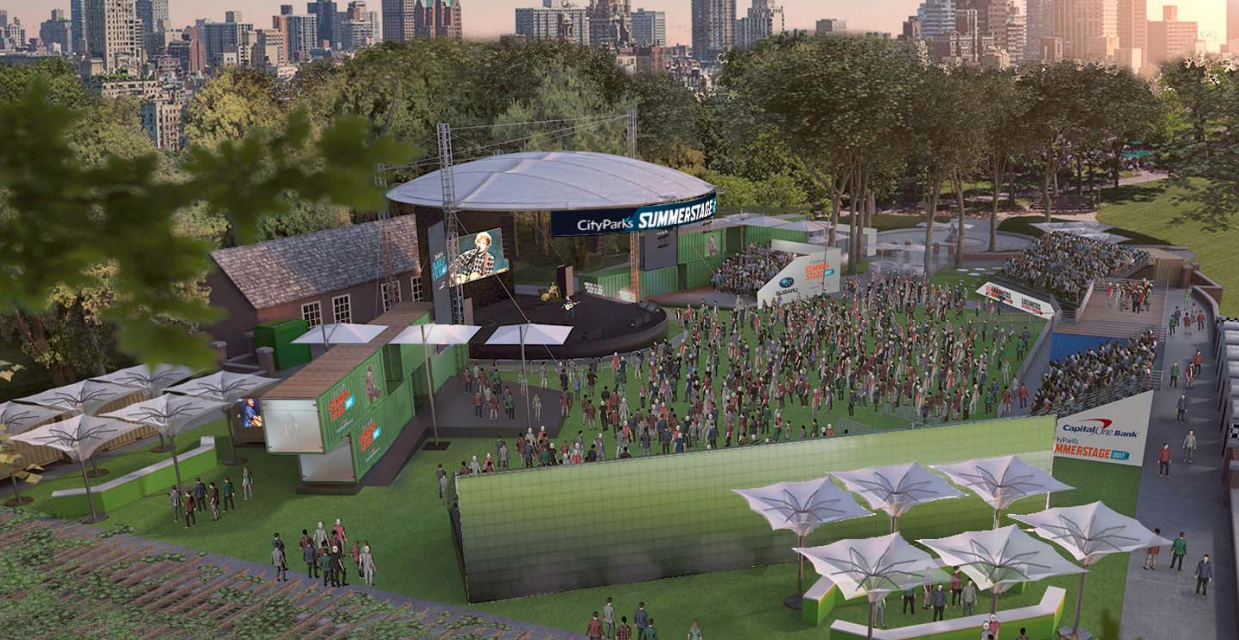 At NYC Tradition SummerStage, New Canopy Just the Start